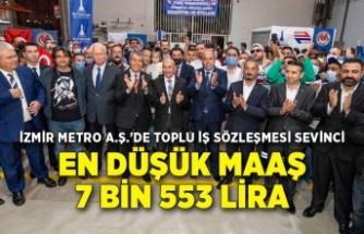 İzmir Metro A.Ş.'de toplu iş sözleşmesi sevinci