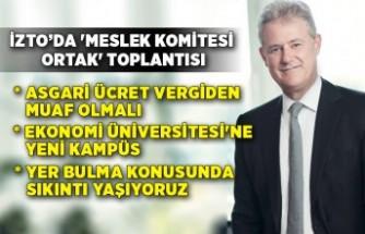 İzmir Ticaret Odası'nda 'Meslek Komitesi Ortak' Toplantısı