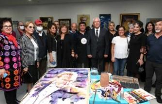 Karabağlar'da Cumhuriyet Daima V Sergisi açıldı