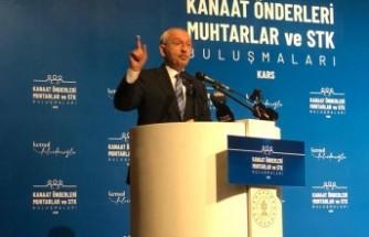 Kılıçdaroğlu: Vatandaşı perişan edecek kararlar almayın
