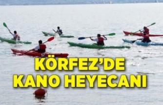 Körfez'de kano heyecanı