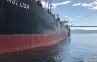 Körfezi kirleten gemiye 3 milyon 28 bin 355 lira ceza