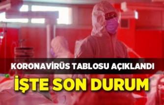 Koronavirüs Tablosu (21 Ekim 2021)