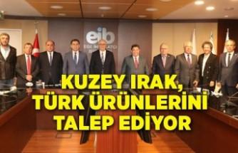 Kuzey Irak, Türk ürünlerini talep ediyor