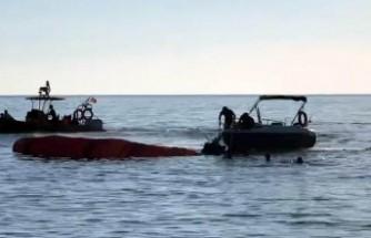 Üç yamaç paraşütü pilotu denize düştü