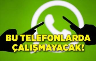 WhatsApp artık bu telefon modellerinde çalışmayacak!