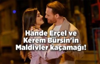 Hande Erçel ve Kerem Bürsin'in Maldivler kaçamağı!