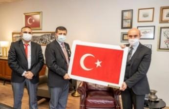 Türkiye Harp Malulü Gaziler, Şehit Dul ve Yetimleri Derneği'nden Tunç Soyer'e teşekkür