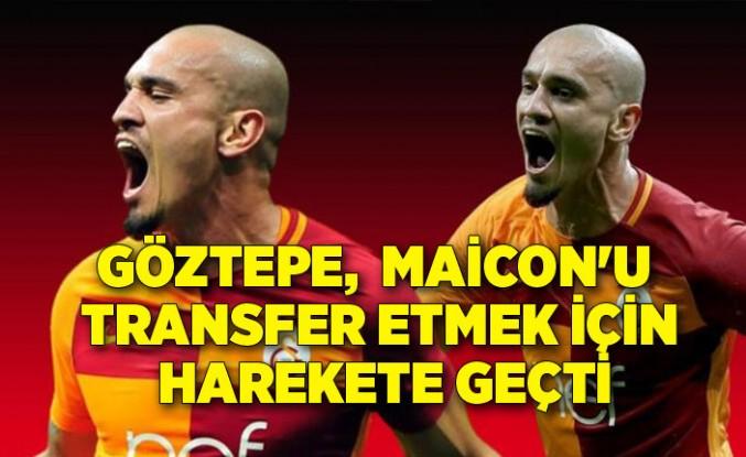 Göztepe, eski Galatasaraylı futbolcu Maicon'u transfer etmek için harekete geçti