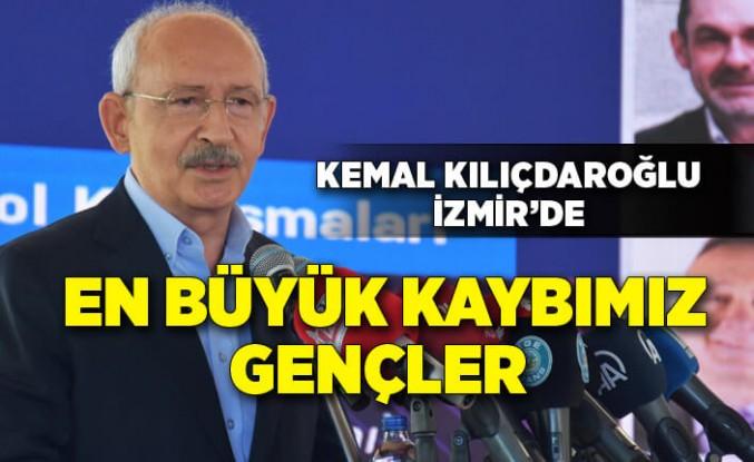 Kılıçdaroğlu: En büyük kaybımız; insanların geleceğini dışarıda aramalarıdır