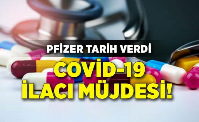 Covid-19 ilacı müjdesi! Pfizer tarih verdi