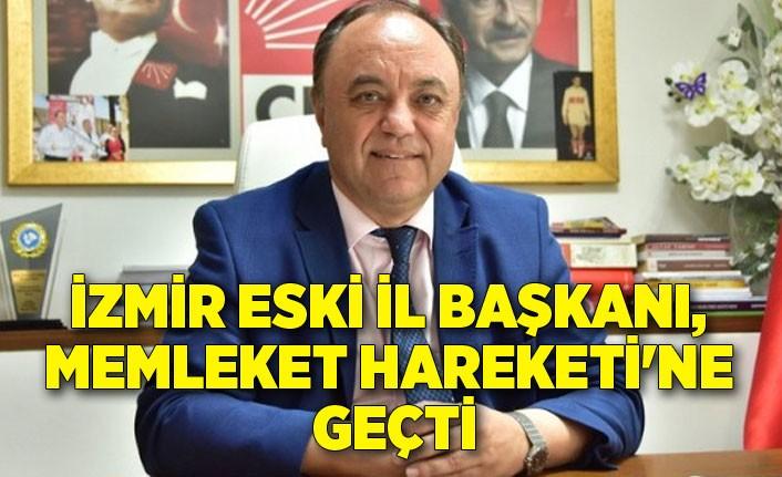 İzmir eski il başkanı, Memleket Hareketi'ne geçti