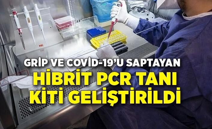 Grip ve COVID-19'u saptayan Hibrit PCR Tanı Kiti geliştirdi