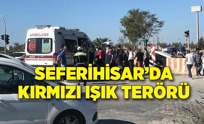 İzmir Seferihisar'da trafik kazası