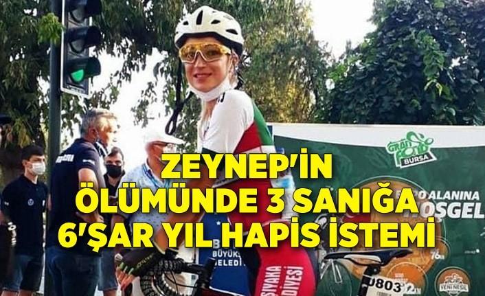 Zeynep'in ölümünde 3 sanığa 6'şar yıl hapis istemi