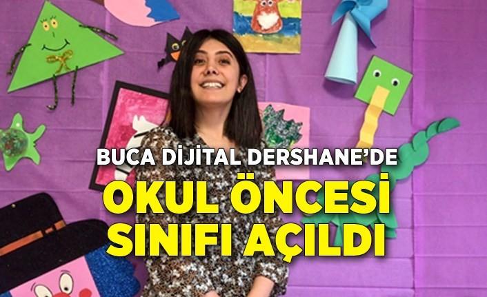 Buca Dijital Dershane'de okul öncesi sınıfı açıldı