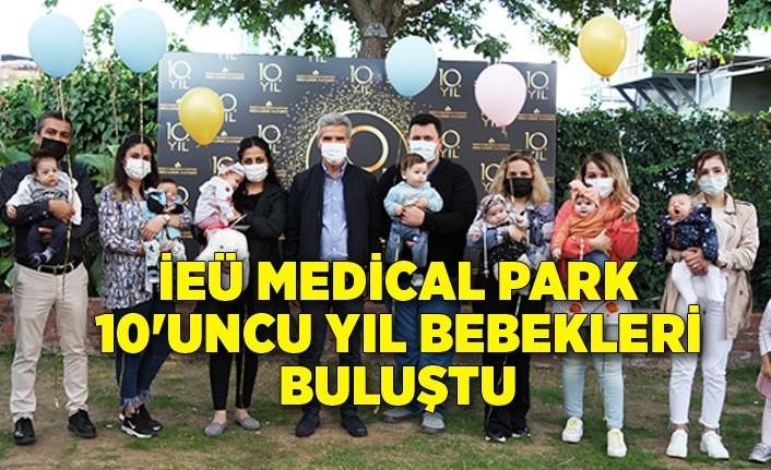 İEÜ Medical Park 10'uncu yıl bebekleri buluştu
