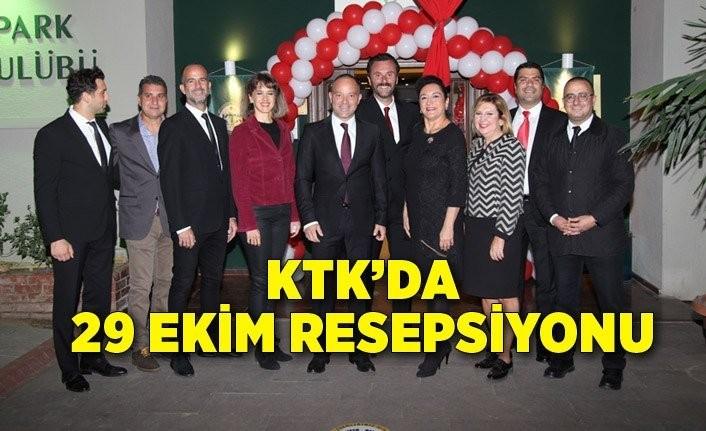 KTK'da 29 Ekim resepsiyonu