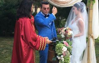 Ünlü Oyuncu Şile'de Evlendi