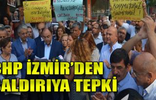 CHP İzmir'den Teröre Tepki
