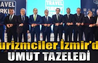 Turizmciler İzmir'de Umut Tazeledi