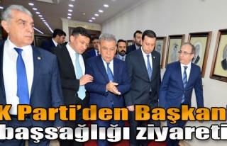 AK Parti'den Başkan'a Başsağlığı Ziyareti