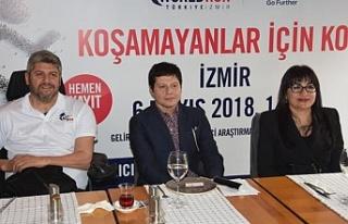 İzmir, WFL World Run'a hazır