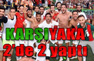 Karşıyaka 2'de 2 Yaptı!