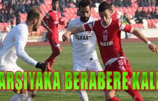 Balıkesirspor 0-0 Karşıyaka