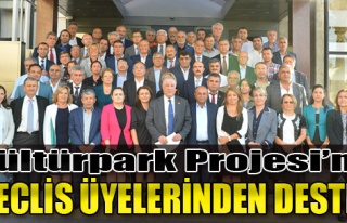Kültürpark Projesi'ne Meclis Üyelerinden Destek