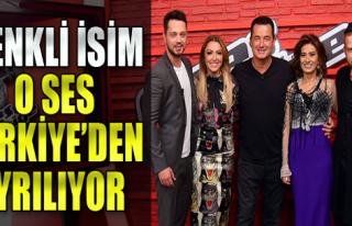 O Ses Türkiye'nin En Renkli İsmi Ayrılıyor