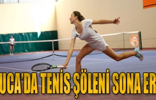Buca'da Tenis Şöleni Sona Erdi