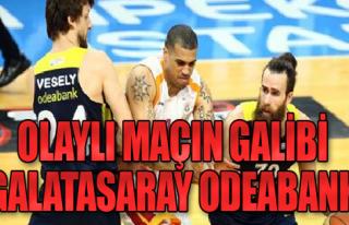 Olaylı Maçı Kazanan Galatasaray Odeabank
