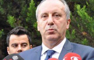 CHP'de Muharrem İnce Sürprizi