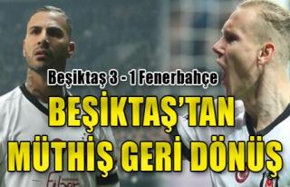 Beşiktaş 3 - 1 Fenerbahçe
