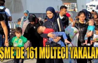 Çeşme'de 161 Mülteci Yakalandı