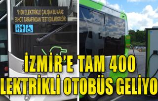 Elektrikli Otobüste İhale Tamam