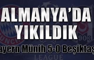 Beşiktaş Almanya'da Yıkıldı