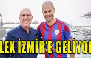 Alex İzmir'e geliyor!