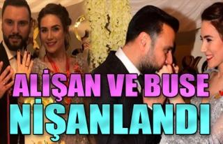 Alişan ile Buse Varol nişanlandı