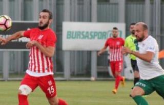 Bursaspor- Balıkesirspor: 3-1