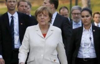 Cumhurbaşkanı Erdoğan, Almanya Başbakanı Merkel'le...