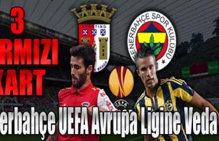 Fenerbahçe Avrupa Ligi'ne Veda Etti