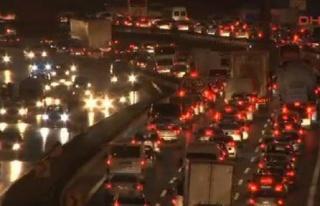 Trafikte Bayram Yoğunluğu