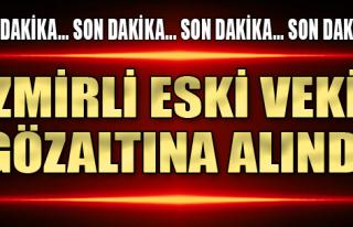 AK Partili Eski Vekil Gözaltında