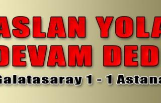 Galatasaray 1 - 1 Astana