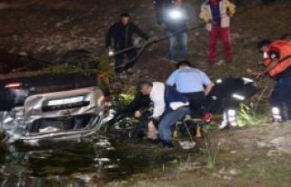Otomobil Göle Uçtu: 2 Ölü, 4 Yaralı