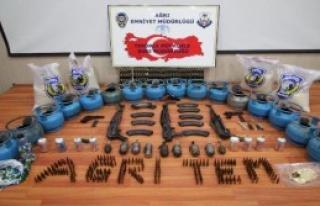 Ağrı'da PKK'nın Şehir Yapılanmasına Operasyon