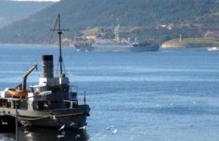 Rus İstihbarat Gemisi, Çanakkale Boğazı'ndan Geçti