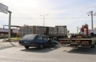 Aydın'da trafik kazası: 1'i ağır 5 kişi yaralı